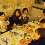 ①昼食・ローマ市街 (2)